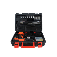 21V Electric Screwdriver And Cordless Drill And Screwdriver Hardware Kit Household Toolbox