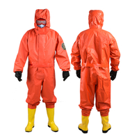 Fire protection second-level chemical conjoined protective clothing