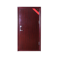 Steel Wood Fireproof Heat Insulation Door