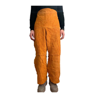 Cow Leather Welding Protective Pants