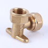 Brass Elbow with Seat Elbow Inner Wire Inner Tooth Seat Bend
