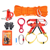 Family Emergency Lifeline, Survival Rope Set, Lifeline Safety Rope Descender