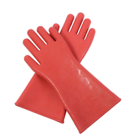 Rubber Insulating Gloves for Electricians