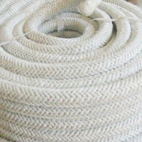 Asbestos Braided Rope High Temperature Rope Ceramic Fiber Rope Asbestos Twisted Rope