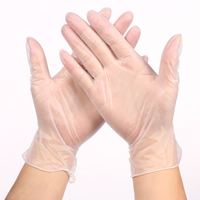 Disposable Transparent Thickened PVC Gloves