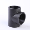 Hot Melt PE Socket Type Three-way HDPE Equal Diameter Three-way Pipe Fittings