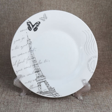daily usage porcelain tableware plate ceramic dishes