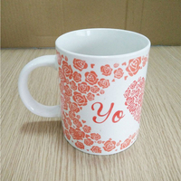 wholesale bulk cheap ceramic white mug