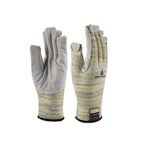 Class 5 Anti-cut Seam Leather Protective Gloves