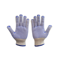 Labor Protection Point Plastic Gloves Factory Wholesale