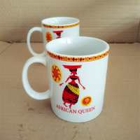 From China supplier tall 11oz cheap nice porcelain coffee mug